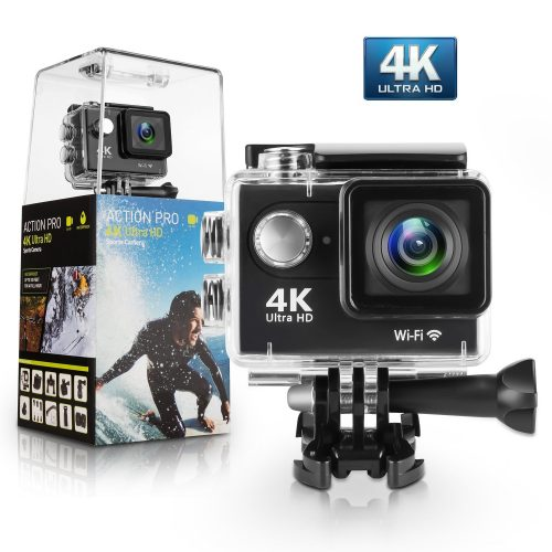 Amuoc 4K Wii Ultra HD Waterproof DV Camcorder 12MP