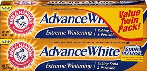 Arm & Hammer Advance White Extreme Whitening Toothpaste, Baking Soda, and Peroxide
