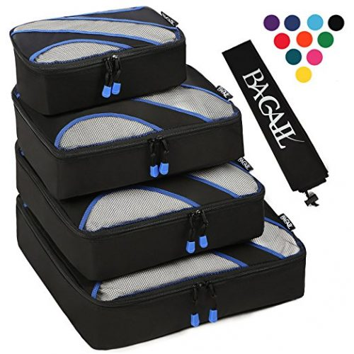 BAGAIL 4 Set Packing cube Organizer
