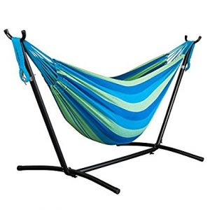 Driftsun Double Hammock with Steel Stand and Travel Case
