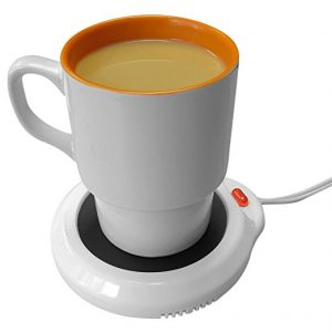 Evelots Mug Warmers, Electric Cup, and Beverage Warmer, with Overheat resistant construction