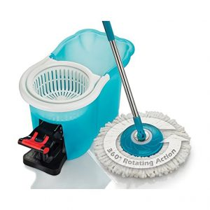 Hurricane Spin Mop Home Cleaning System, Floor Mop with Bucket