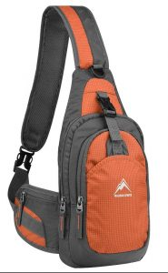 MALEDEN Water Resistant Outdoor Shoulder Chest Sling                 Backpack