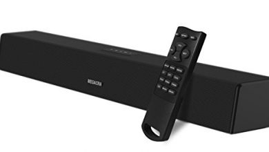 MEGACRA TV Sound Bar Wired and Wireless Bluetooth Audio Speakers