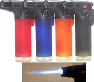 Megadeal Box of 4 Single Jet Flame Torch Lighter