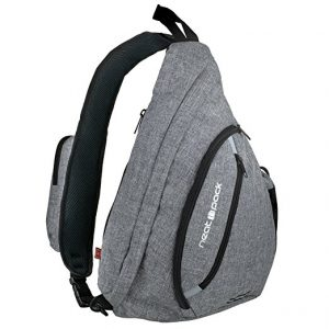 NeatPack Versatile Canvas Sling Bag, Wear Over Shoulder or Crossbody