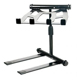 Pyle PLPTS55 Portable, Folding Tabletop DJ Gear Stand