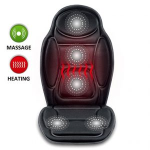 SNAILAX Seat Cushion Vibrating massage cushion with Heat Therapy