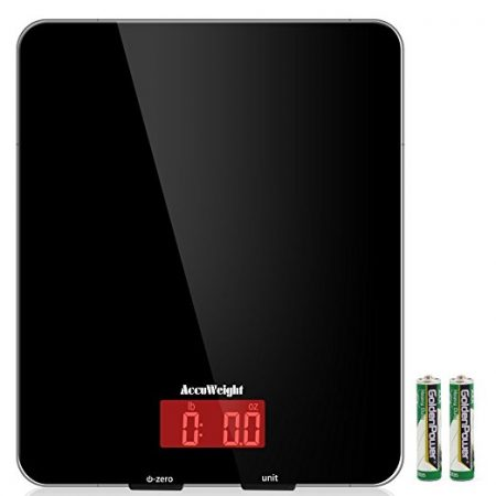 AccuWeight Multifunction Meat Food Scale Digital Kitchen scale