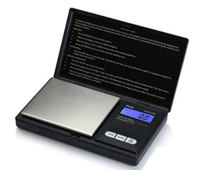 American Weigh Scales AWS-600- BLK Pocket Size Digital Personal Nutrition Scale