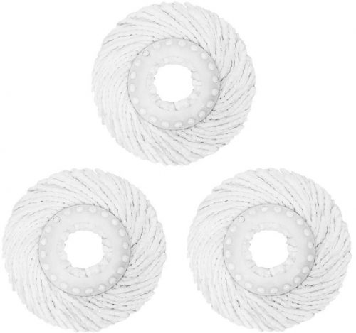 BPG best value 3 Pack High-Quality Replacement spin mop head
