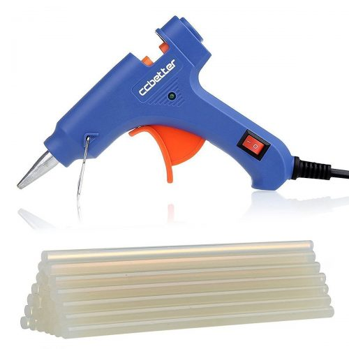 CC Better Mini Hot Melt Glue Gun with 25pcs Glue Sticks High