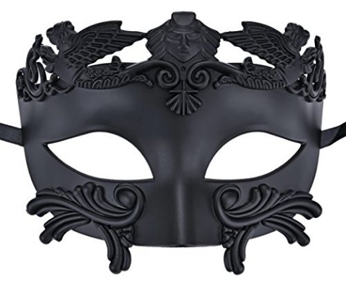 Coxeer Men's Masquerade Mask Greek Roman Party Mask Mardi Gras Halloween Mask