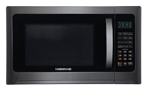 Farberware Black FMO12AHTBSG 1.2-Cubic- Foot 1100-Watt Microwave Oven with Grill Function