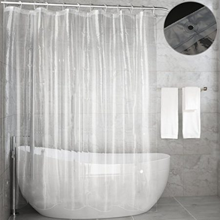 Shower Curtains That Won T Mildew.Best Shower Curtain Liners In 2019 Reviews