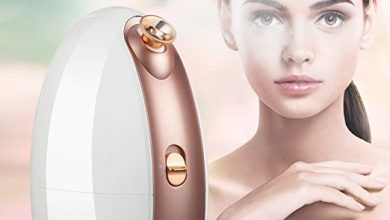Lavany Facial Steamer Nano Ionic Hot and Cool Mist Moisturizing Face Steamer