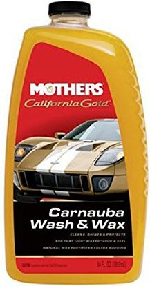 Mothers 05674 California Gold Carnauba Wash & Wax - 64 oz
