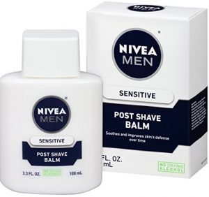 NIVEA Men Sensitive Post Shave Balm 3.3 Fluid Ounce