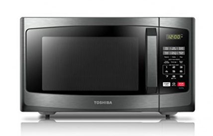Toshiba EM925A5A-BS Microwave Oven with Sound On/Off and ECO Mode,0.9 Cu.ft. 900W,