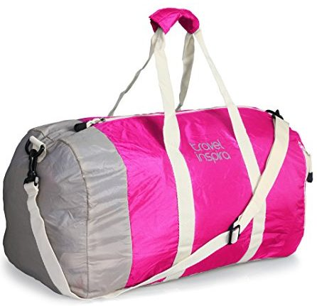 Travel inspira Duffel Bag For Women & Men - Foldable lightweight