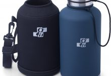 [Upgraded] Beer Growler and Water Bottle 64 oz