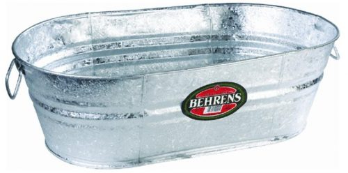 Behrens 3-OV Oval Steel Tub - 16-Gallon