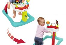 Kolcraft Tiny Steps 2-in- 1 Activity Walker-Seated