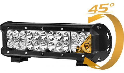 72W LED Light Bar, Eyourlife 12V LED Light Bar Cree LED Light