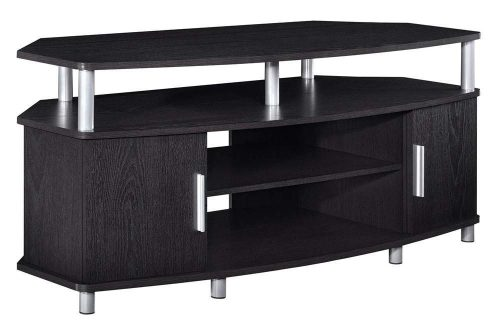 "Ameriwood Home Carson Corner TV Stand for TVs up to 50"", Black"