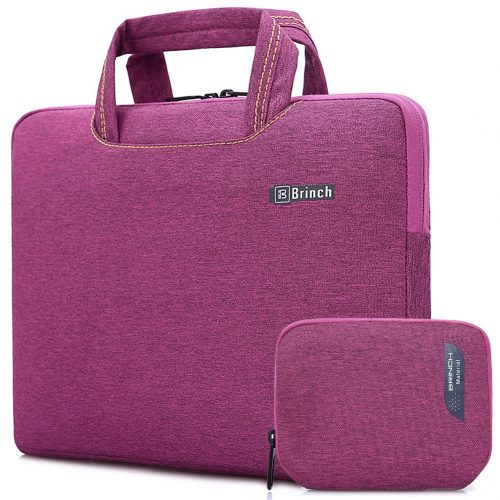 Brinch 15''- 15.6'' Waterproof Laptop Case Bag, Universal Fit