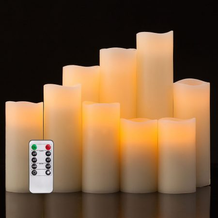Pandaing Battery Operated Flameless Candles