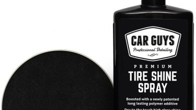 CarGuys Tire Shine Spray, Car Detailing Kit for Wheels and Tires