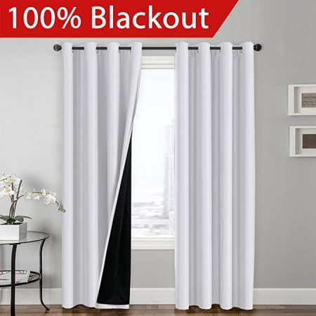 Flamingo P 100% BLACKOUT Curtain Set