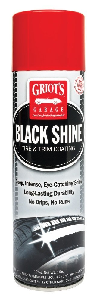 Griot's Garage 10938 Black Shine Tire and Trim Coating