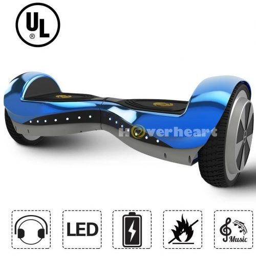 "Hoverheart 6.5"" Hoverboard UL- 2272 Listed Premium Two-Wheeled Self Balancing hoverboard with Bluetooth speaker"