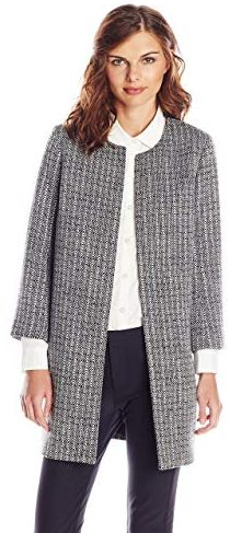 Lark & Ro Women's Tweed Topper Jacket