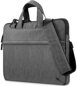 Plemo 13-13.3 Inches, Shockproof and Waterproof 3-Layer Padded Laptop Bag