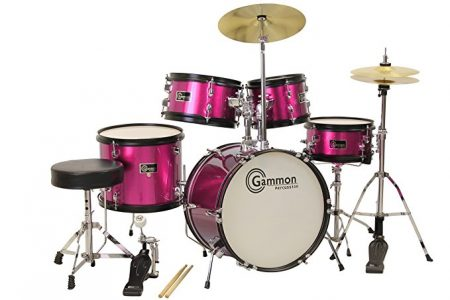 Princess Pink Drum Set By Gammon Percussion