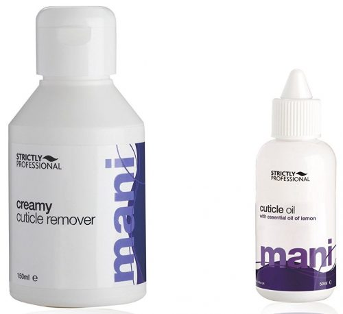 Strictly professional Cuticle Oil+ creamy Remover