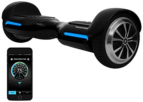 Swagtron T580 App-Enabled Bluetooth Hoverboard Smart Self-Balancing