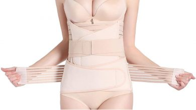 Hip Mall 3 in 1 Postpartum Girdle Support Recovery Belly Band Corset Wrap