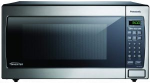 Panasonic NN-SN773SAZ Stainless 1.6 Cu. Ft. Countertop Built-In Microwave