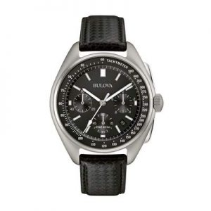 Bulova 45 mm Special-Edition Lunar Pilot Chronograph Men's Watch