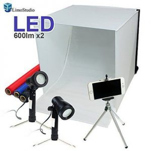 LimoStudio AGG349 Tabletop Photography Studio Lighting Tent Kit