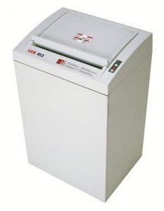 HSM Classic 411.2L6, 14-16 Sheet, High-Security Shred Commercial Paper Shredder
