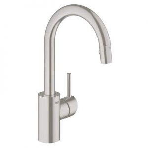 Concetto Single-Handle Pull-Down Sprayer Kitchen Faucet with Dual Spray in StarLight Chrome
