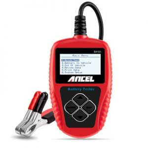 ANCEL's BA101 Pro 12V 100-2000CCA 220Ah Car Battery Load Tester