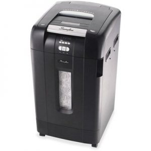 Swingline Stack&Shred Cross-Cut Style Commercial Paper Shredder