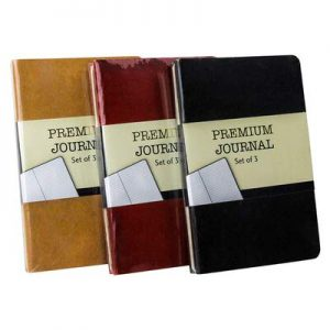 Personal Premium Journals, Pack of 9 Notepads