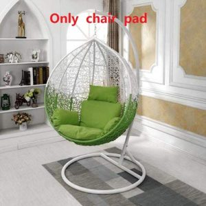 QTQZ A General Swing seat Cushion Thick nest Hanging Chair Back Without Chair-H